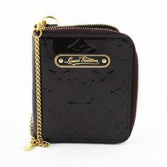 8d313c6a14 Porte-agenda Louis Vuitton monogram empreinte Authentique d'occasion en  cuir vernis couleur amarante (mauve)