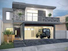 pequeñas casas modernas y minimalistas