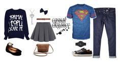 """""""/8"""" by marcy-728 on Polyvore featuring Dorothy Perkins, Steve Madden, Amanda Rose Collection, River Island, Bioworld, Converse e Emporio Armani"""