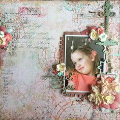 Angel Eyes Wendy Scholten Blue Fern Studios design Team projects may - Scrapbook.com