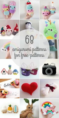 Amigurumi Patterns For Free-patterns