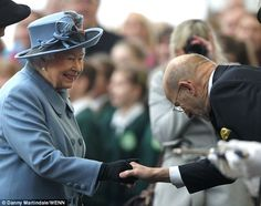 Dozens of local dignitaries had lined up along the platform in order to greet the royal ...