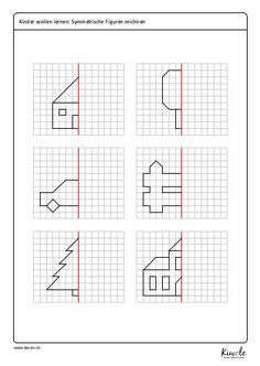 Symmetry Worksheets, Preschool Number Worksheets, Preschool Learning Activities, Worksheets For Kids, Visual Perception Activities, Baby Quiet Book, Math Facts, Math For Kids, Kids Education