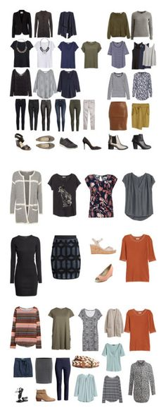 """""""Capsuel Wardrobe - Spring 2016"""" by lone-haure-norrevang on Polyvore featuring H&M, FiveUnits, VILA, rag & bone, The People's Movement MOVMT, Prada, Seychelles and Noisy May"""