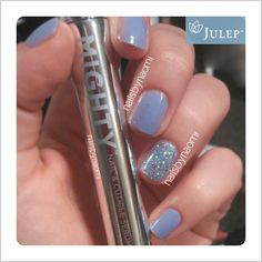 Julep's Fan Nail of the Day by Naomi