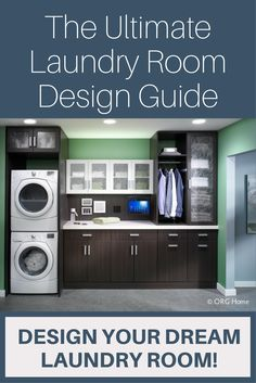 Top 10 Essential Things For Your Laundry Room Laundry Room Remodel, Laundry Room Organization, Laundry Rooms, Innovation, Laundry Cabinets, Laundry Room Design, Closet Storage, Home Remodeling, House Design