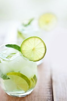Add cucumbers to your cocktail.