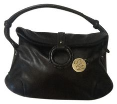 Stuart Weitzman Black Leather Shoulder Bag. Get one of the hottest styles  of the season. Tradesy 5448345ac4bc9