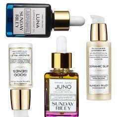 Rank & Style - Sunday Riley Good Genes Treatment, Luna Sleeping Night Oil, Juno Hydroactive Cellular Face Oil, Ceramic Slip Cleanser #rankandstyle