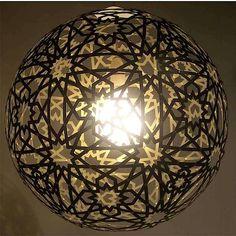 DIY Moresque Lamp