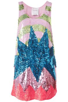 Flash Burst sequin dress by Louise Gray for Top Shop