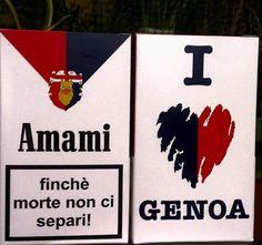 Genoa Football, Genoa Cfc, Club, Red, Genoa