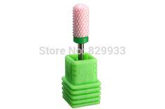 1 PC Electric Manicure Pedicure Drill Pink Ceramic Nail Bits Teeth Whitening Dentist Pro Nail Art Salon Ceramic Tool Barrel Ball