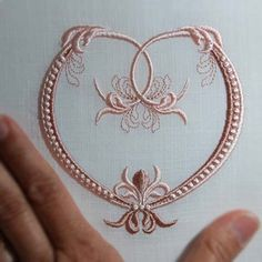 Hardanger Embroidery Patterns Fleur de Lis Heart - These are design files which must be stitched out on a computerized embroidery machine Border Embroidery, Embroidery Letters, Hardanger Embroidery, Types Of Embroidery, Learn Embroidery, Machine Embroidery Patterns, Silk Ribbon Embroidery, Embroidery Stitches, Hand Embroidery