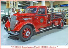 1938 REO fire engine   Flickr - Photo Sharing!