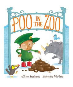 tiger tales Poo in the Zoo! Hardcover | zulily