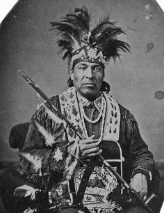Iroquois (Mohawk) man - circa 1875