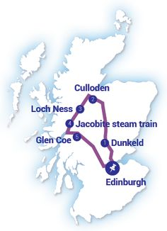 LOCH NESS, FORT WILLIAM & THE JACOBITE STEAM TRAIN(Hogwarts Express) Price from £135