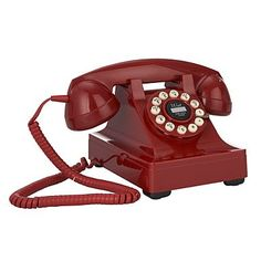 I have a thing for proper telephones, I currently use the 1970s telephone from my childhood but would love a 1950s original. This phone is a great repo though.