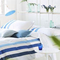 Hudson Dusk Bed Linen   Designers Guild
