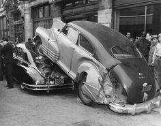 Car crash, unknown date