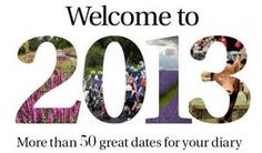 Surrey 2013 ~ more than 50 great things to do this year