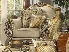 Gentil Victorian Furniture Stores   Borguese Victorian Style Sofa Collection