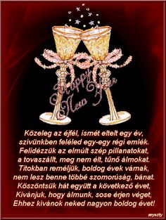 Új évi köszöntők - nanoka72 Blogja - 2015-12-28 20:34 Christmas And New Year, Merry Christmas, Xmas, Happy New Year, Evo, Farmer, Tableware, Sweet, Advent