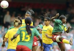 Brazil vs Cameroon, Group E - Soccer Slideshows | NBC Olympics