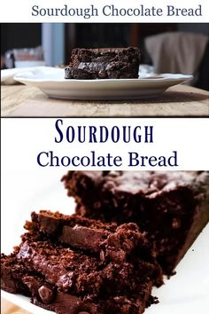 This sourdough chocolate bread tastes like a fudgy brownie and cake combined, deliciously moist with depths of chocolate in every bite. The fermentation process gives the bread a great flavor depth heightening the chocolate with the perfect balance of sweet. #sourdough #chocolatebread #sourdoughstarter