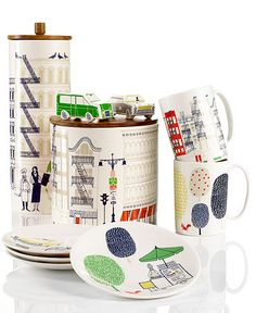 Kate Spades About Town Dinnerware Is So Cute, It Will Make You Play with Your Food.