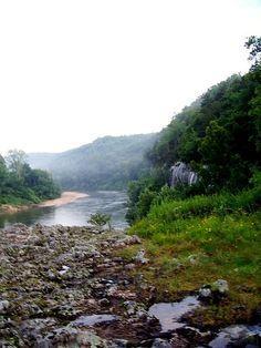 Buffalo River. Arkansas.