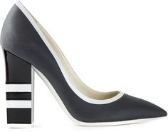 Every woman needs a power shoe, and this season it's all about the sleek, pointy-toed pump. Just sliding your feet into these high heels will remind you that you're powerful and confident, in the office or out.   Pollini Pumps ($517)