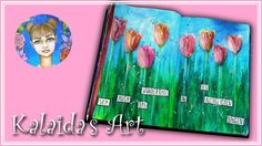 "Kalaida's Art 🎨 - Art Journal ""Selbstliebe"" 💖 Flip Through"