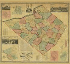 Hey, I found this really awesome Etsy listing at https://www.etsy.com/listing/261253688/1860-map-of-berks-county-pa-reading