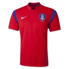 81b11c30167 Nike Men's 2014 Korea Stadium Home Jersey Challenge Red/Old Royal/Football  White World