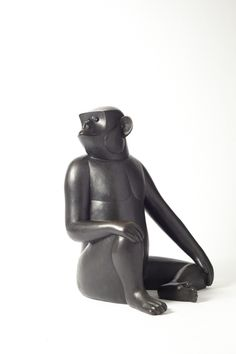 François-Xavier Lalanne  Singe Avise (grand), 2005  bronze  46 1/2 x 33 1/2 x 32 in  118.1 x 85.1 x 81.3 cm  Edition of 8 + 4 AP