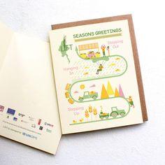 Lifts - Seasonal Greetings Motion Graphics, Graphic Design, Seasons, Illustration, Seasons Of The Year, Illustrations, Visual Communication