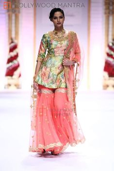 Gaurav Gupta collection at Aamby Valley India Bridal Fashion Week 2013
