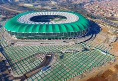 Timsah Arena - Bursaspor, Turkey Stadium Architecture, Football Stadiums, Monuments, Mens Suits, Hs Football, Sports, Dress Suits For Men, Men Outfits, Men Suits
