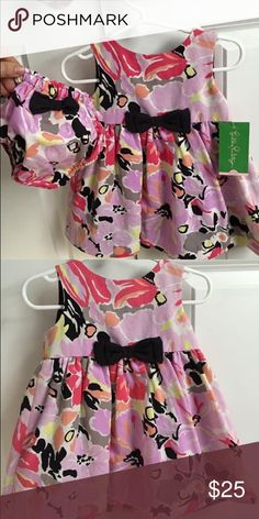 Lilly Pulitzer baby dress size 6-12 months Adorable dress with bloomers. NWT Lilly Pulitzer Dresses