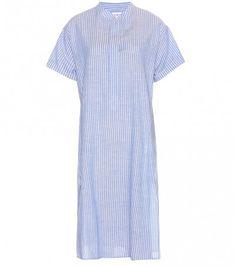 Kleid Aus Baumwolle Und Leinen