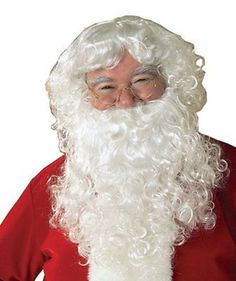 #Deluxe #santa fancy dress costume white wizard wig and beard #christmas hallowee,  View more on the LINK: 	http://www.zeppy.io/product/gb/2/172378611033/