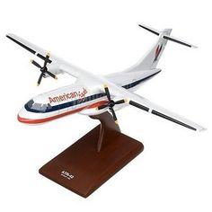 ATR-42 American Eagle Commercial Aircraft Model