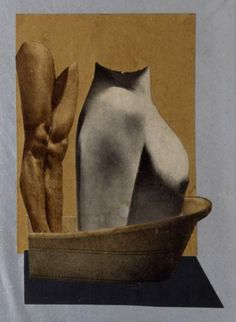 Ces and Ruth in the Bath by Hannah Höch, 1931