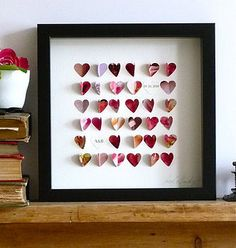 heart picture. valentines day diy
