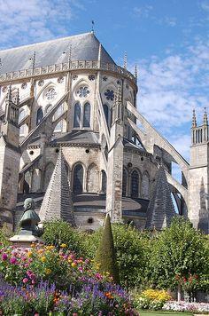 Bourges - Cathédrale Saint-Etienne - France #Gothic