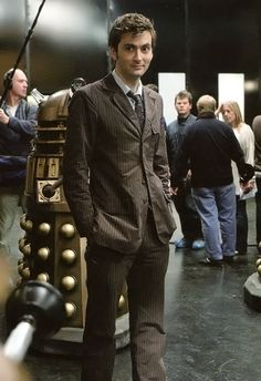 David Tennant as the Tenth Doctor - from the set of Doomsday Happy Tennant Tuesday (or whatever day this post may find you)