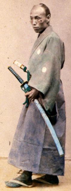 "Samurai ~ ""A Japanese officer (Yaconin)""."