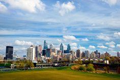 A new angle on the Philadelphia skyline (Photo by J. Fusco for GPTMC)